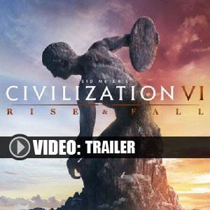 Koop Civilization 6 Rise and Fall CD Key Goedkoop Vergelijk de Prijzen