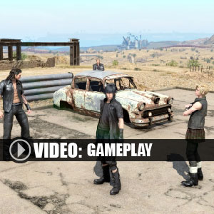 Final Fantasy 15 Gameplay Video
