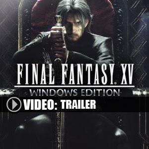 Koop Final Fantasy 15 CD Key Goedkoop Vergelijk de Prijzen