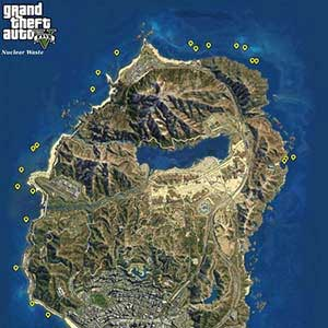 GTA 5 PS4 Map Nuclear Waste