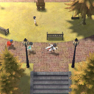 LOST SPHEAR seamless gameplay