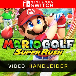 Mario Golf Super Rush Trailer Video