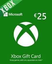 Microsoft Gift Card 25 Euro