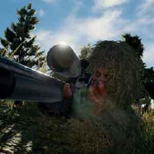 Speler Onbekende Sniper