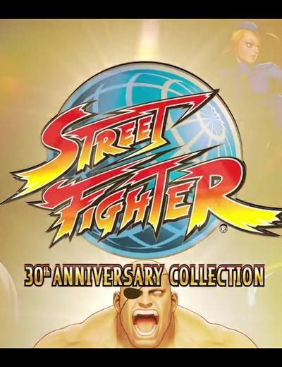 Capcom Street Fighter 30th Anniversary Collection Alpha Retrospective