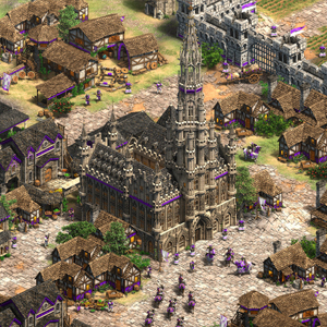 Age of Empires 2 Definitive Edition Lords of the West Stadscentrum