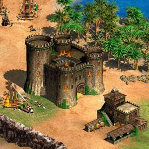 Age of Empires 2 HD - Gameplay Castles