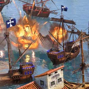 Age of Empires 3 Definitive Edition Zeeslag