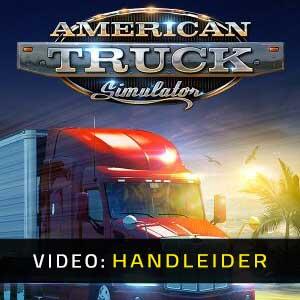 American Truck Simulator Video-opname