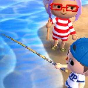 Animal Crossing New Leaf Nintendo 3DS Swimming