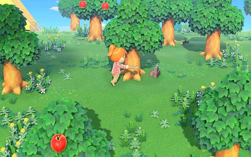 Animal Crossing New Horizons Nintendo Switch Forest