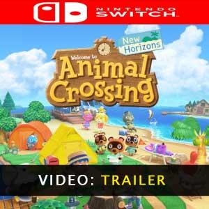 Animal Crossing New Horizons Nintendo Switch videotrailer