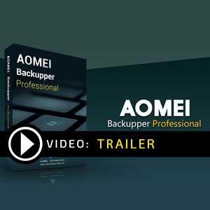 Koop AOMEI Backupper Professional CD Key Goedkoop Vergelijk de Prijzen
