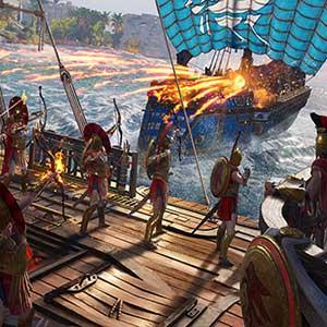 battles across the Aegean Sea