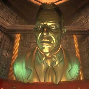 Andrew Ryan Statue