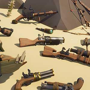 Voorraadpil van geweren en amo