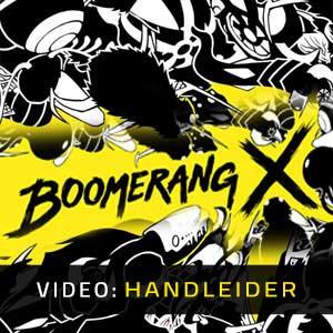 Boomerang X Video-opname