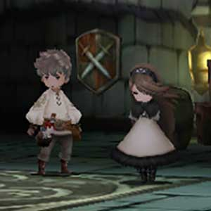 Bravely Default Nintendo 3DS Characters