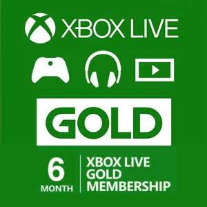 Koop Xbox Live Gold 6 Maanden Code Prijsvergelijker