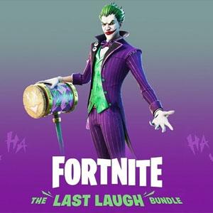 Koop Fortnite The Last Laugh Bundle DLC PS4 Goedkoop Vergelijk de Prijzen