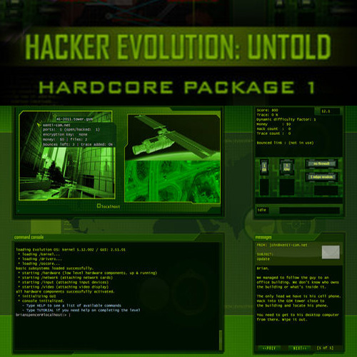 Koop Hacker Evolution Untold Hardcore Package 1 CD Key Compare Prices