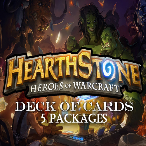 Koop Hearthstone Deck Of Cards Pack 5 GameCard Code Compare Prices