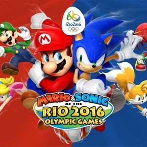 Koop Mario and Sonic at the Rio 2016 Olympic Games Nintendo Wii U Download Code Prijsvergelijker