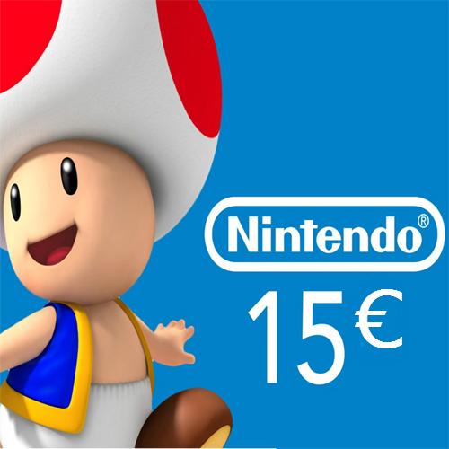 Nintendo eShop 15 Euro