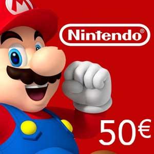 Koop Nintendo eShop 50 Euro Kaart Prijsvergelijker