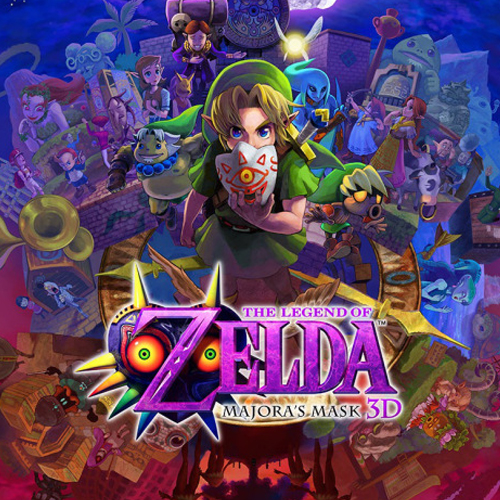 Koop The Legend Of Zelda Majora's Mask Nintendo 3DS Download Code Prijsvergelijker