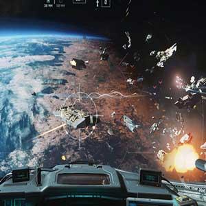 Luchtslag in Call of Duty Oneindige Oorlogsvoering