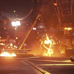 Call of Duty Oneindige Oorlogsvoering Buitenaardse ruimtegevechten