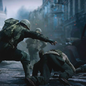 Iconic World War II Gameplay Image