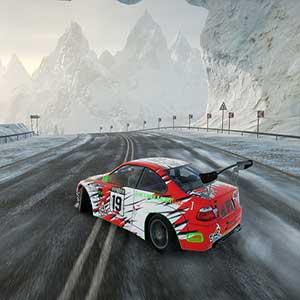 CarX Drift Racing Online Besneeuwd spoor