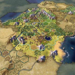 Uitgestrekte rijken in de beschaving 6