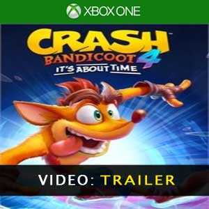 Crash Bandicoot 4 Its About Time Aanhangwagenvideo