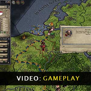 Crusader Kings 2 Gameplay Video
