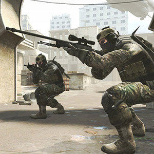 E-sportmodus Counter Strike