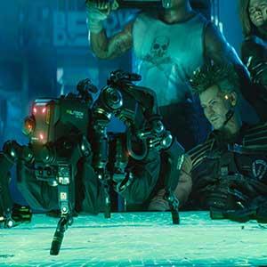 Cyberpunk 2077 Militech Robot