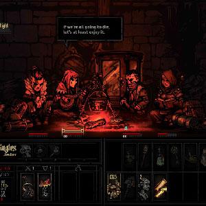 Darkest Dungeon battle