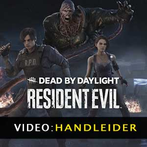 Dead by Daylight Resident Evil Chapter Video-opname