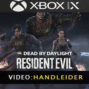 Dead by Daylight Resident Evil Chapter Xbox Series X Video-opname