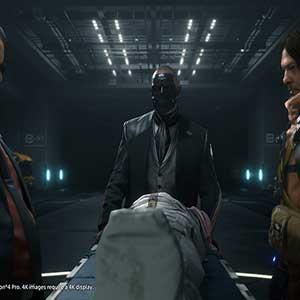 Guillermo del Toro, Tommie Earl Jenkins, et Norman Reedus dans Death Stranding