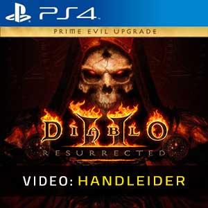 Diablo Prime Evil Upgrade PS4 Video-opname