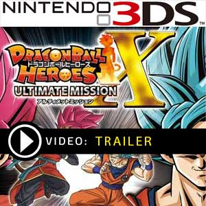 Koop Dragon Ball Heroes Ultimate Mission X Nintendo 3DS Download Code Prijsvergelijker