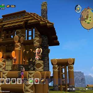 de dorpelingen te helpen hun stad weer op te bouwen...