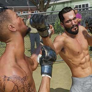 UFC 4 Amateurgevechten