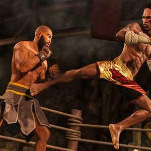 UFC 4 Vechtstijl