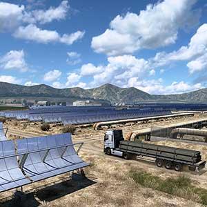 Euro Truck Simulator 2 Iberia Zonnepanelen