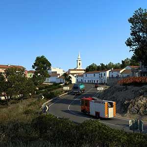 Euro Truck Simulator 2 Iberia Stad